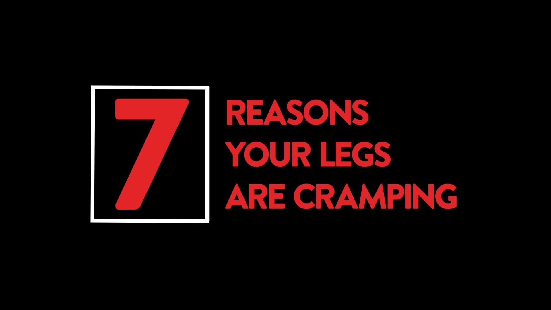What's causing the numbness in your legs?