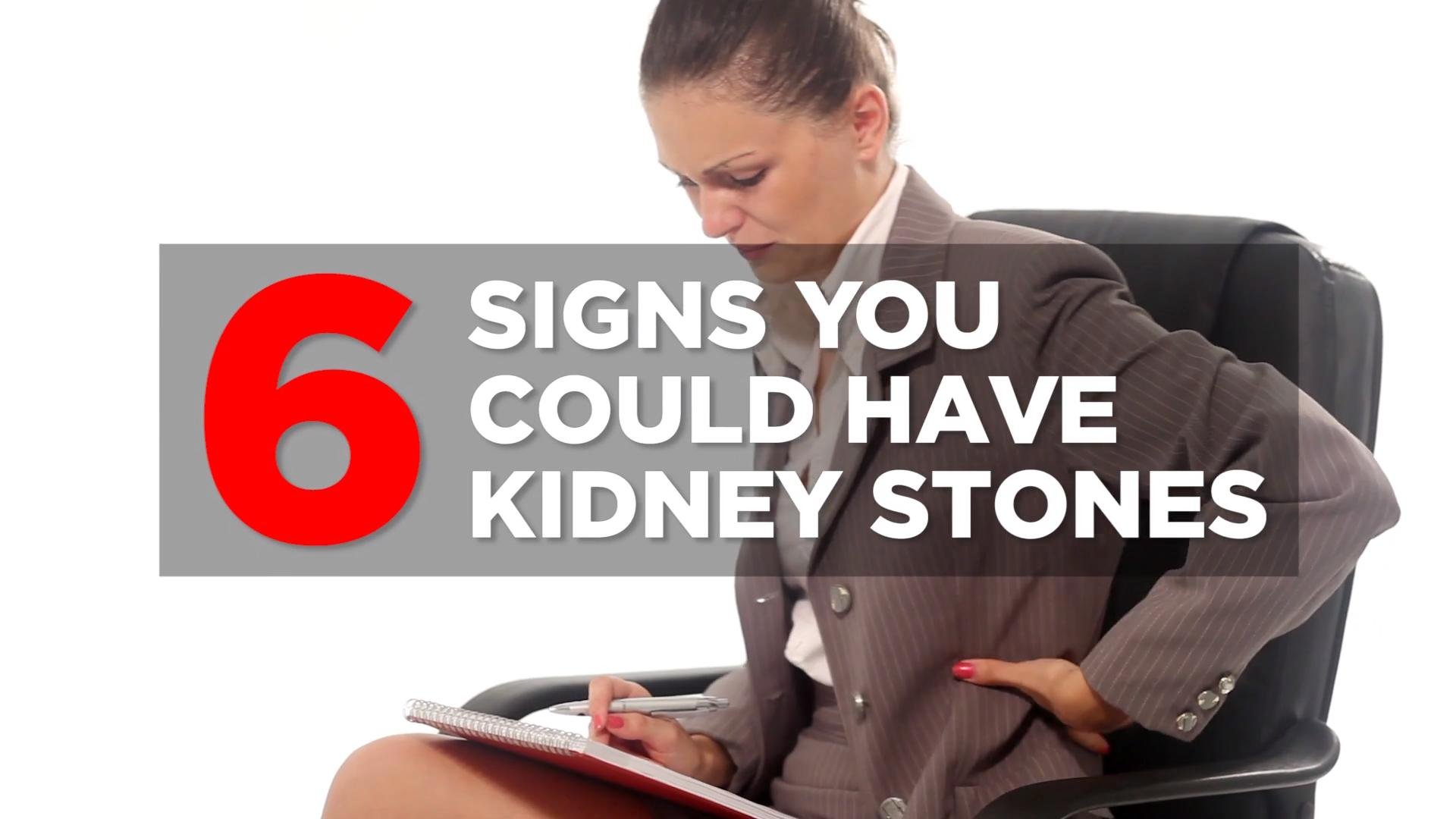 Kidney stone symptoms you should know