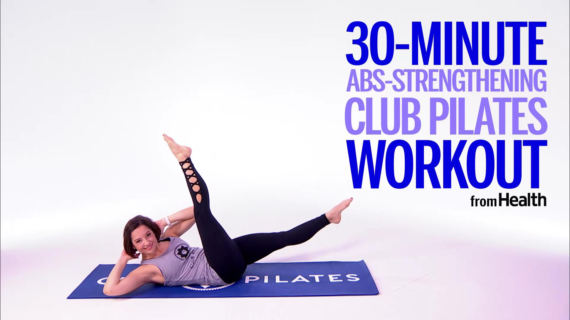 Get Stronger Abs in 30 Minutes With This At-Home Pilates Routine