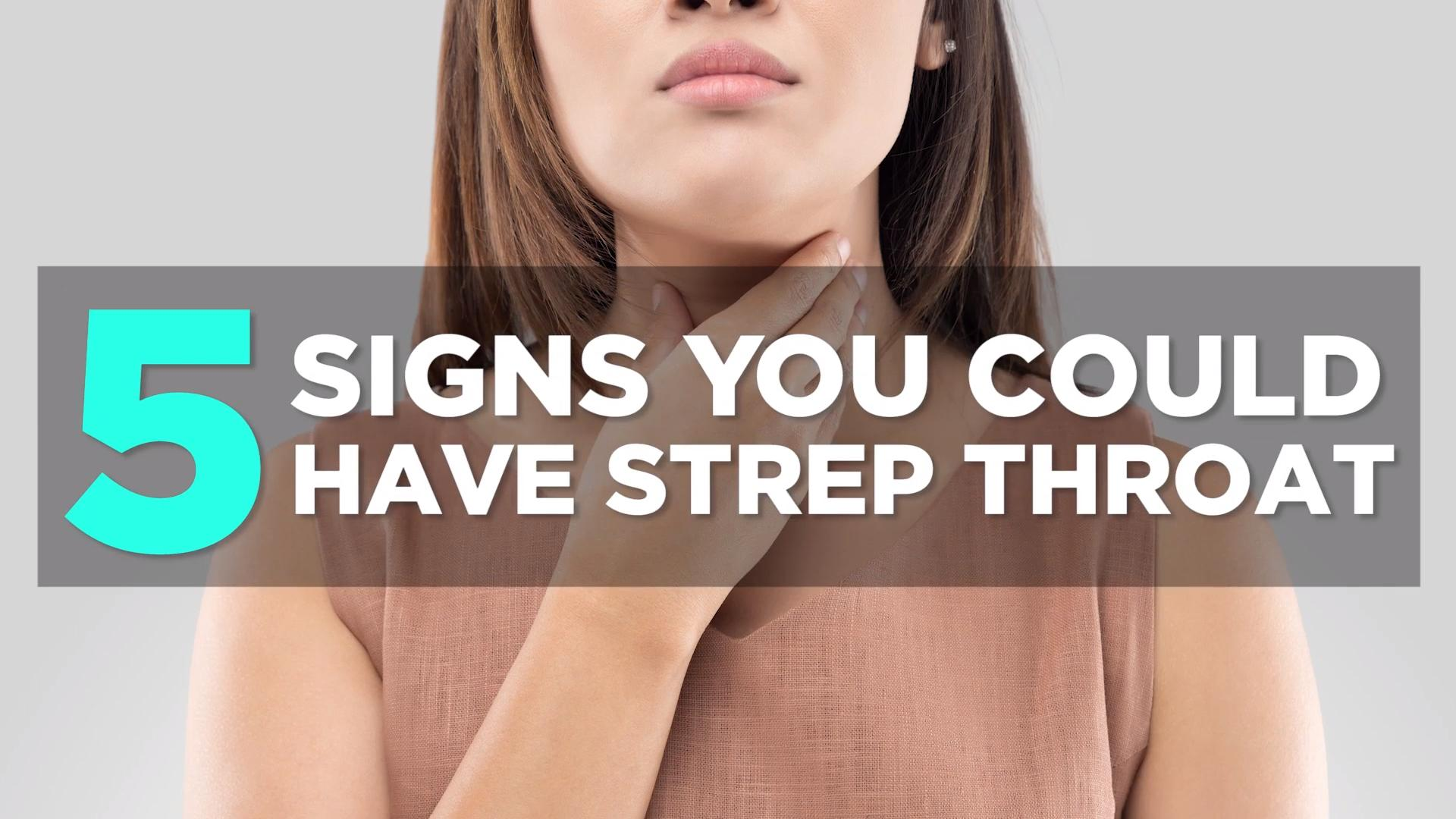 Signs And Symptoms Of Strep Throat Health