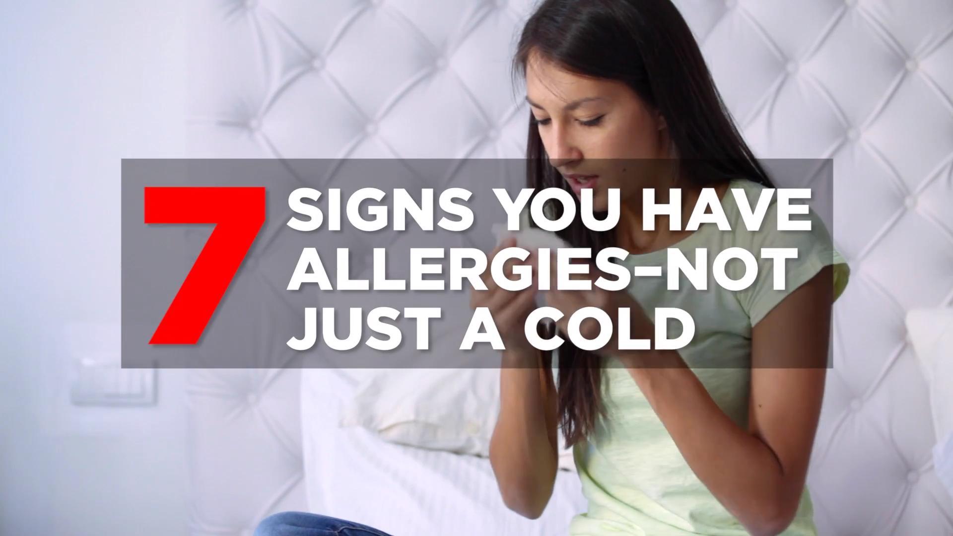 You ignore symptoms