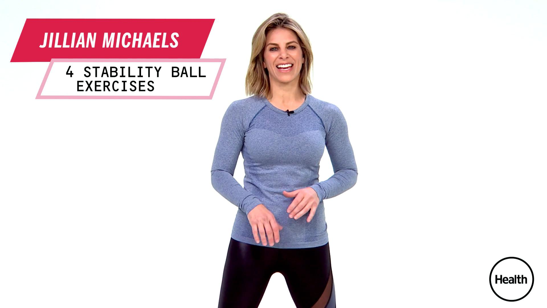 Jillian Michaels' fat-blasting circuit workout