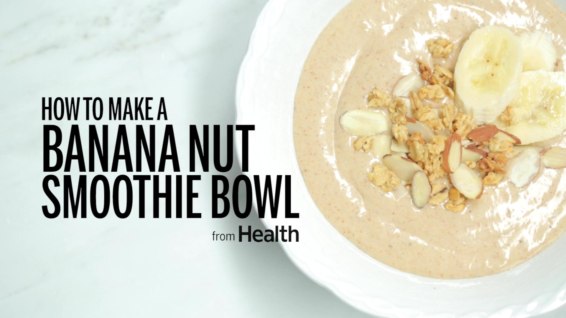 Banana-Nut Smoothie Bowl