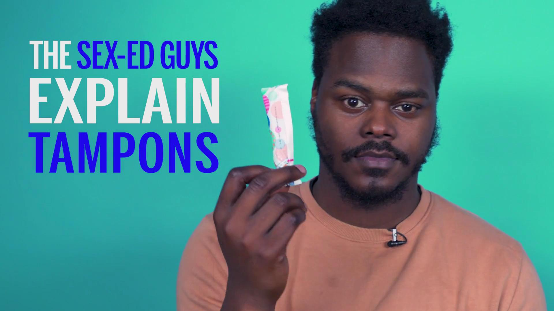Guys Explain How They Think Tampons Work - Health