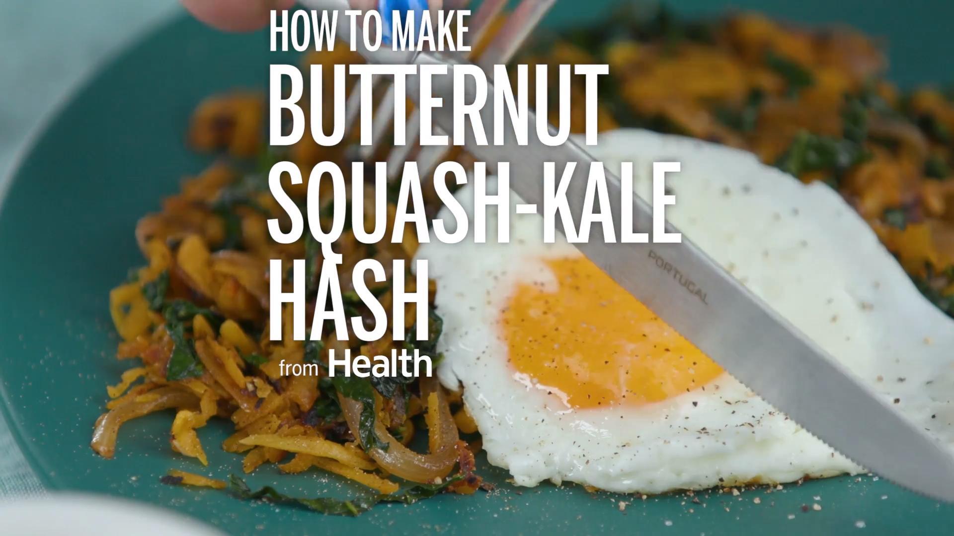 Butternut-Squash Kale Hash