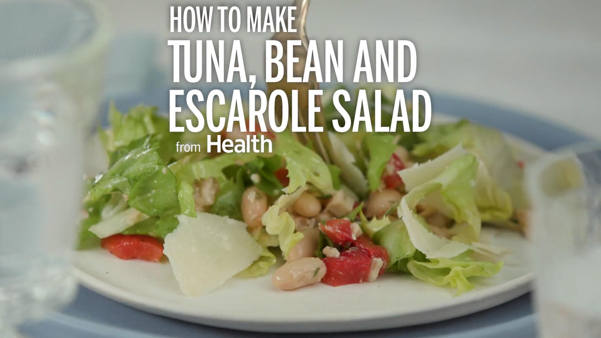 Tuna, Bean, and Escarole Salad