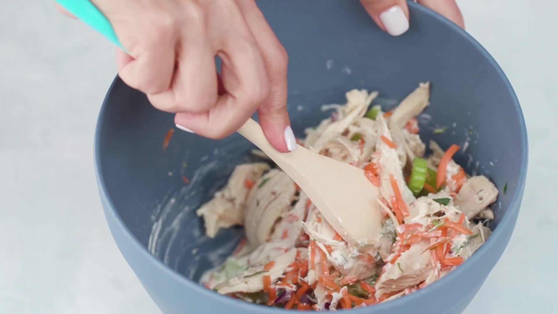 Tarragon Chicken Salad Cups