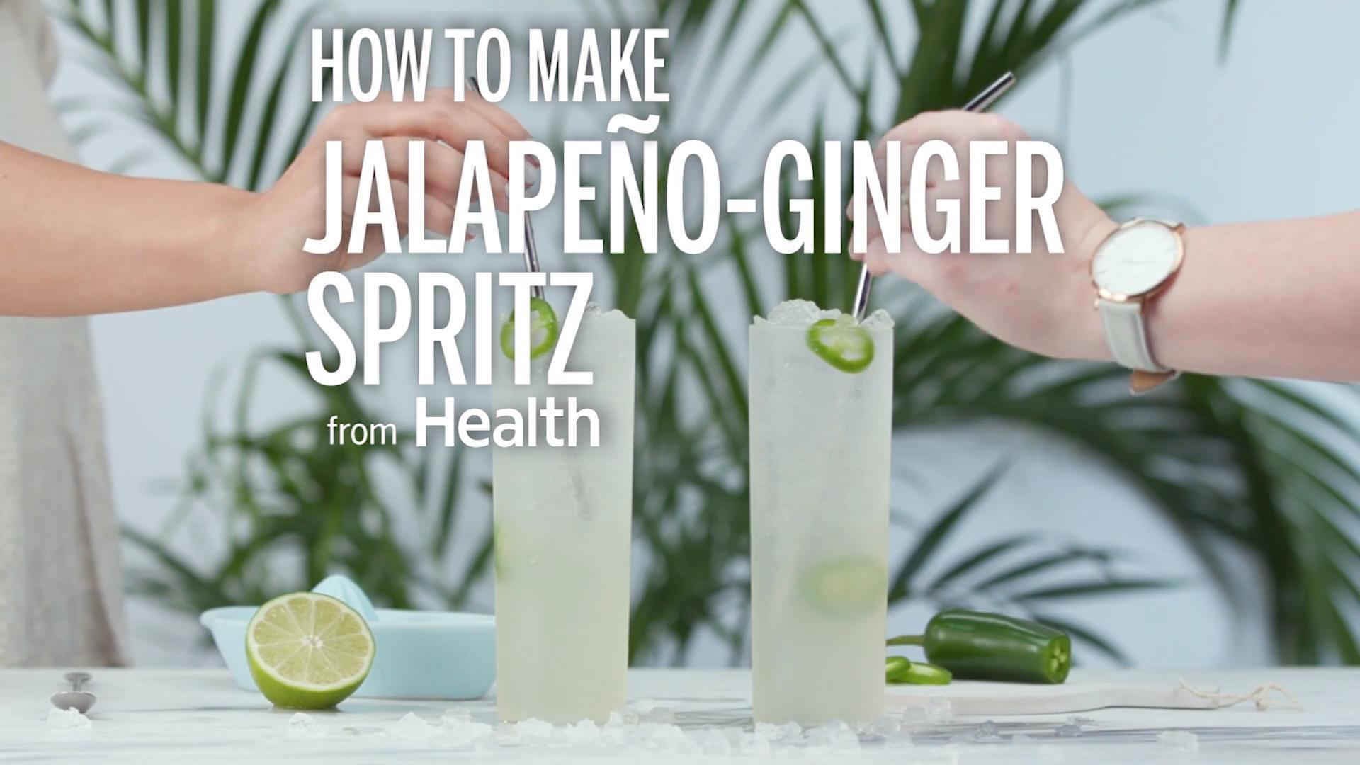 Jalapeño-Ginger Spritz