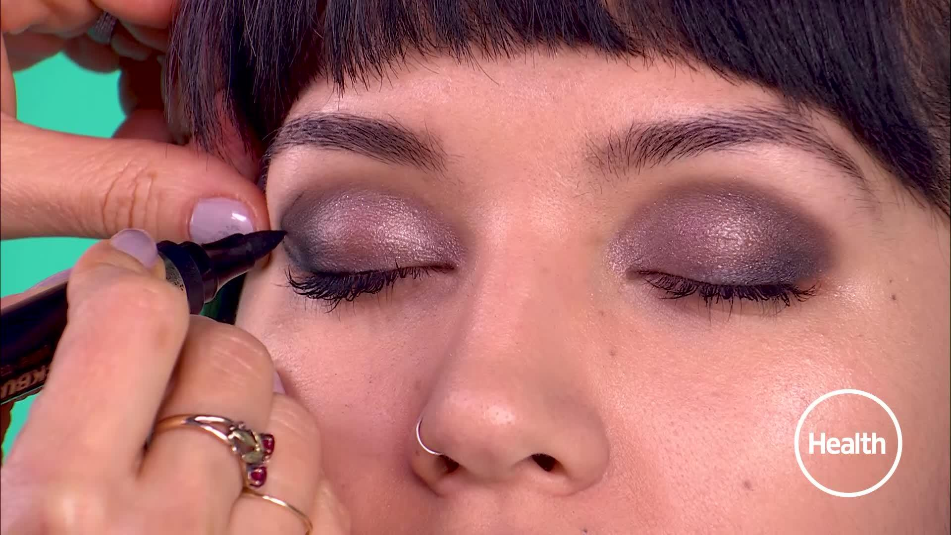 Try a (colorful!) smoky eye