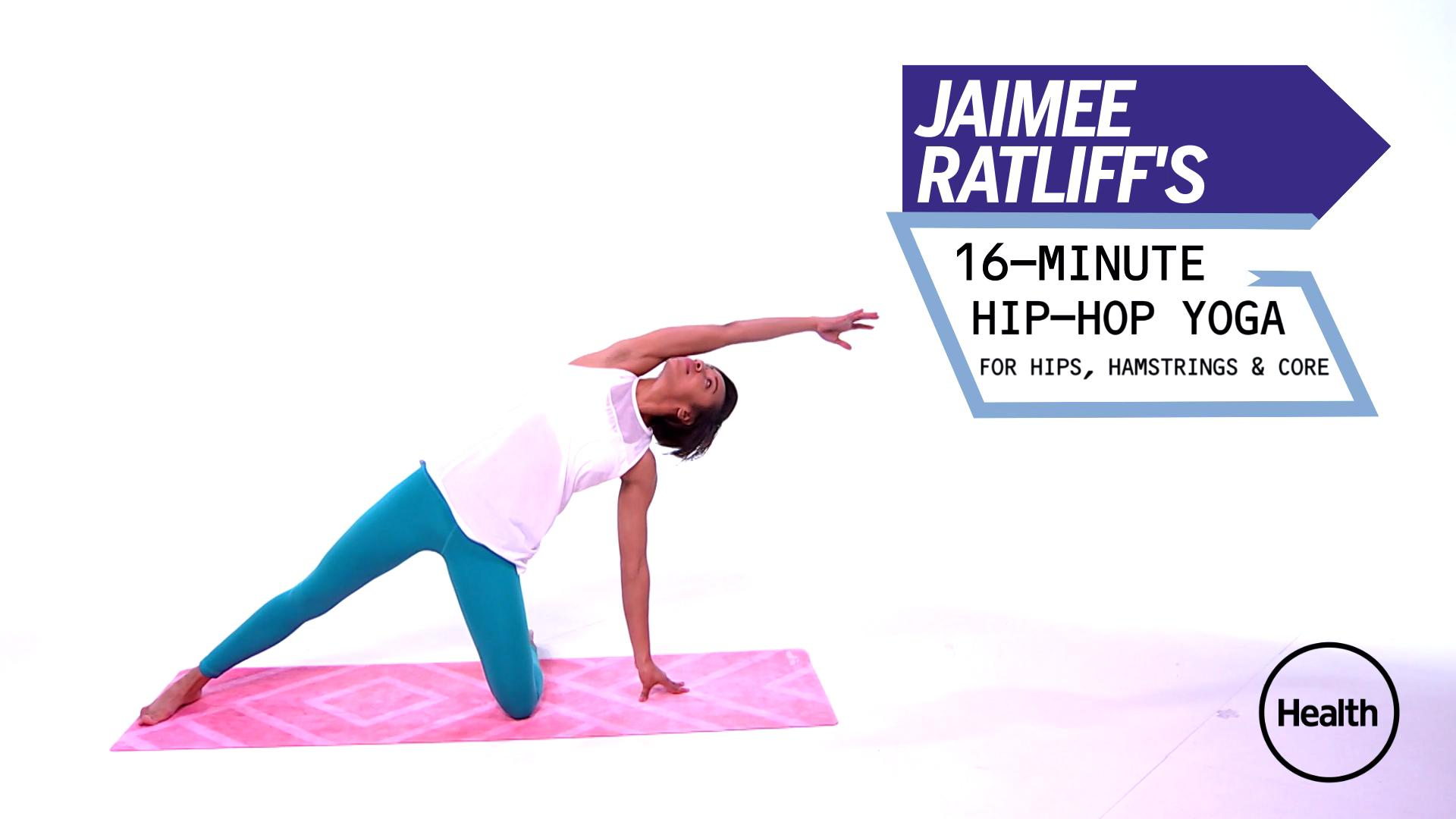 This 20-Minute Hip-Hop Yoga Routine Works Your Hips