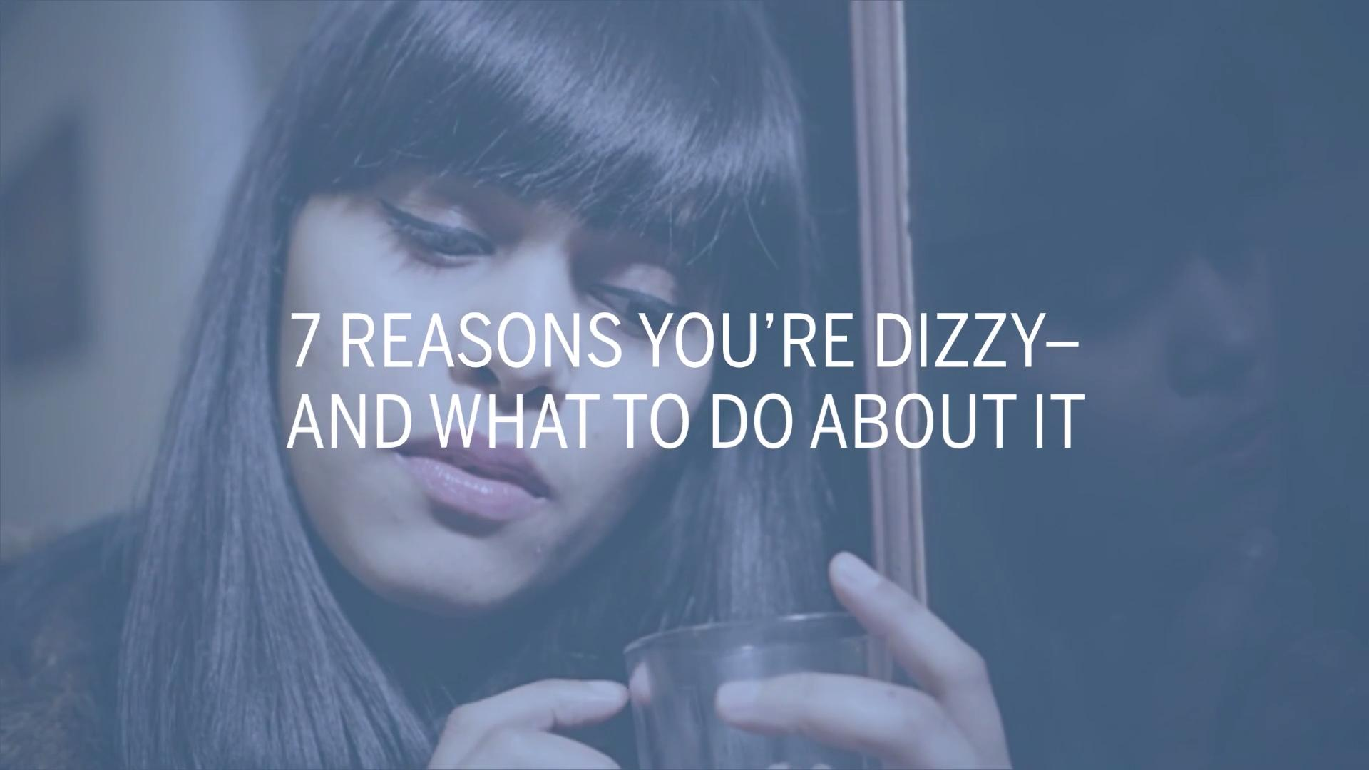 Why am I dizzy?