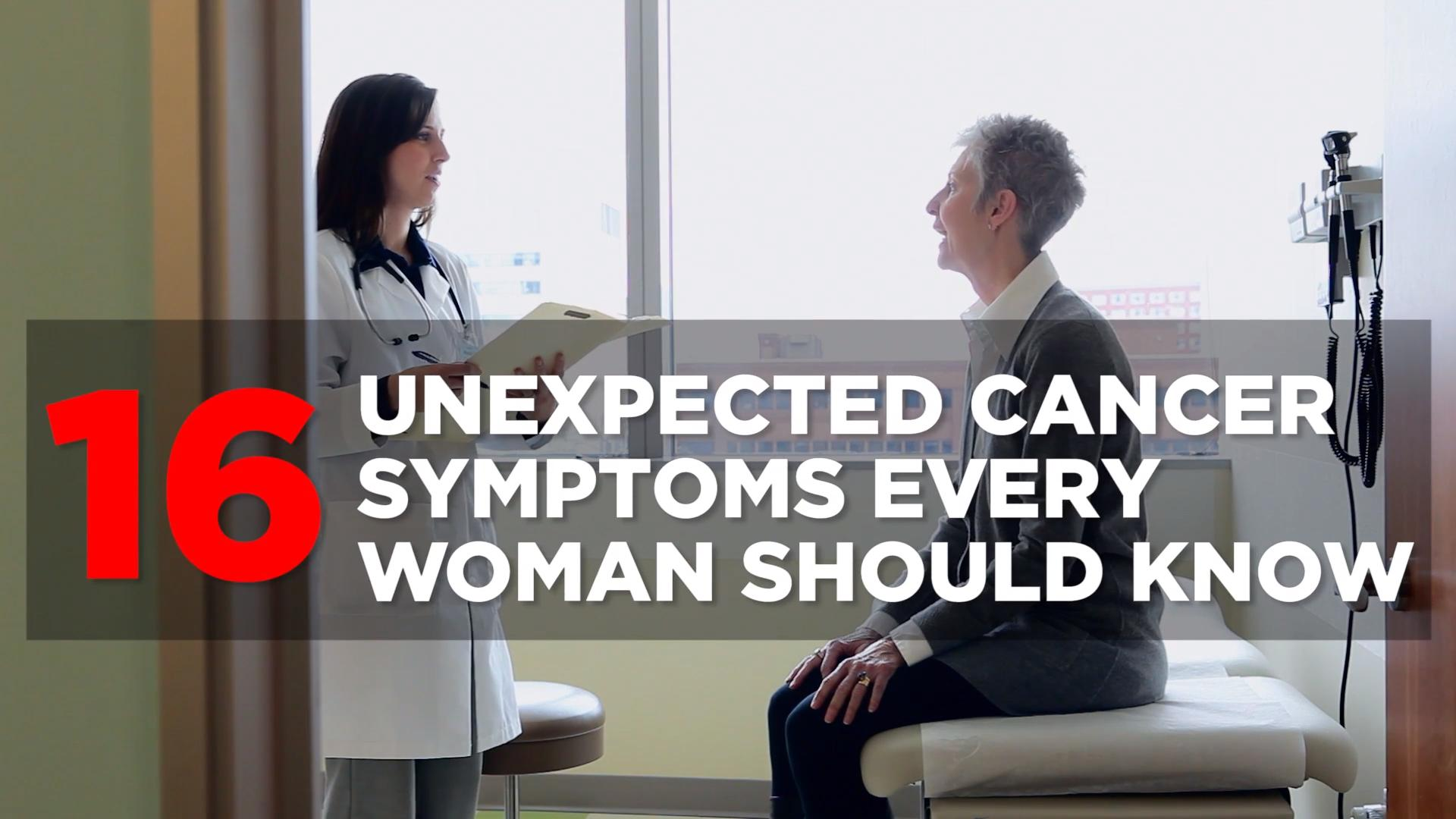 Surprising signs of cancer