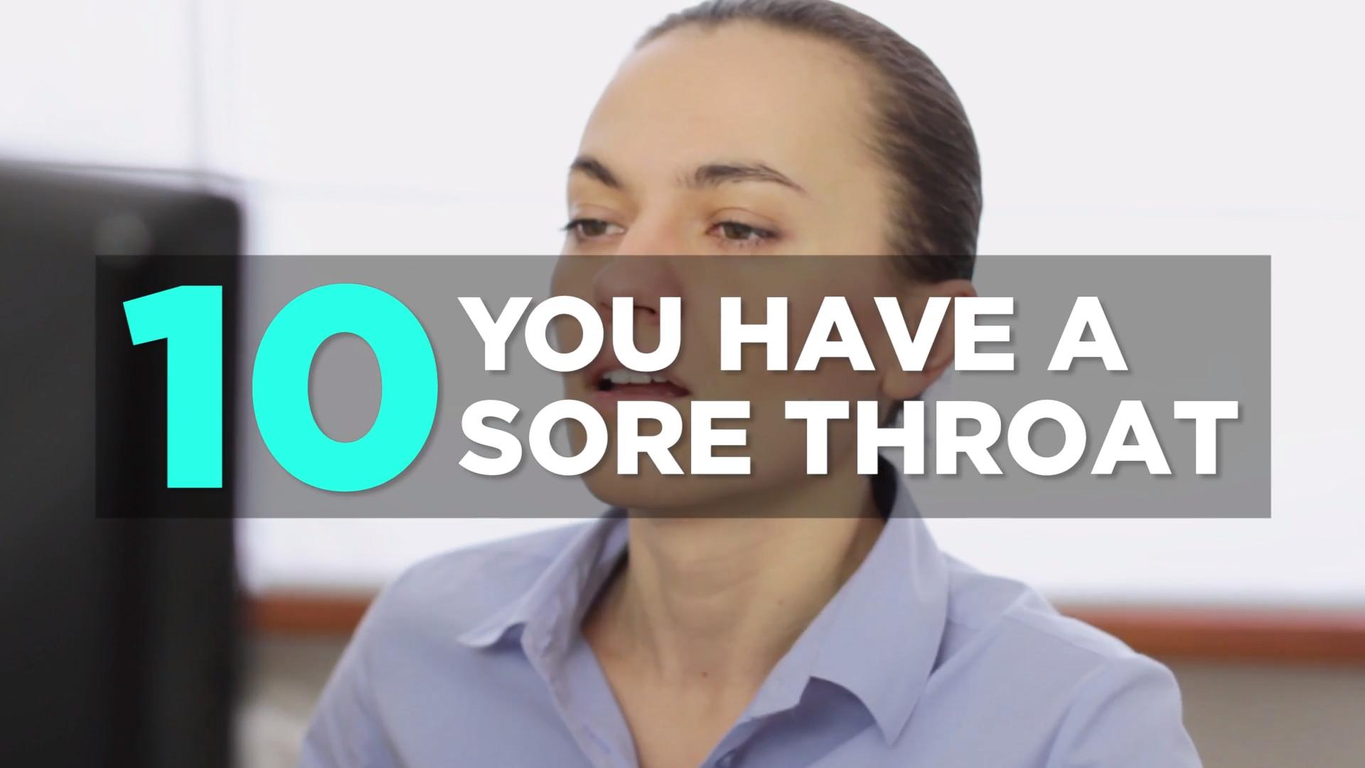 10 sore throat remedies - health