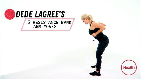 5 Resistance Band Arm Moves From One of Rihanna's Trainers