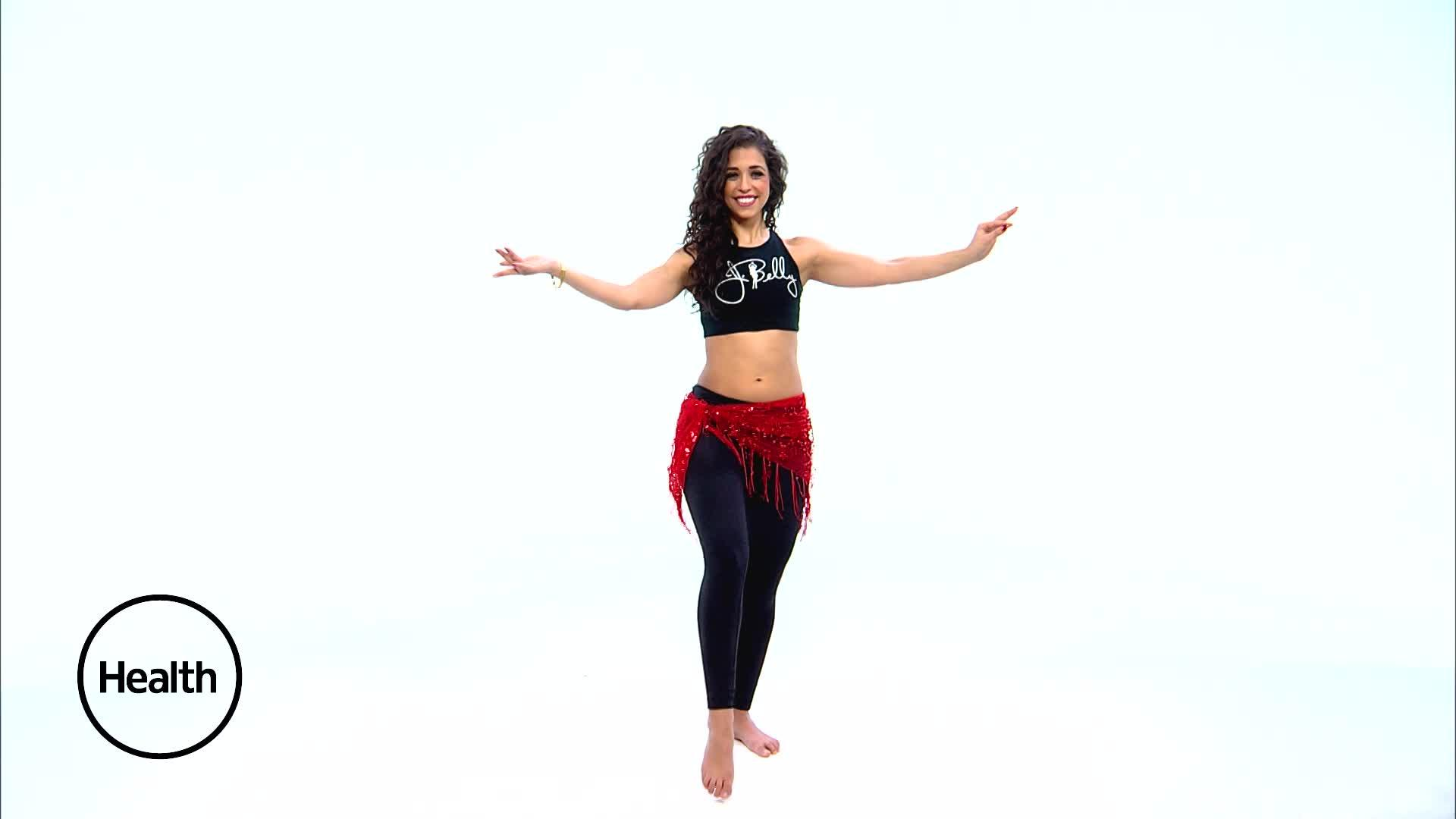 5 Calorie-Burning Belly Dancing Moves