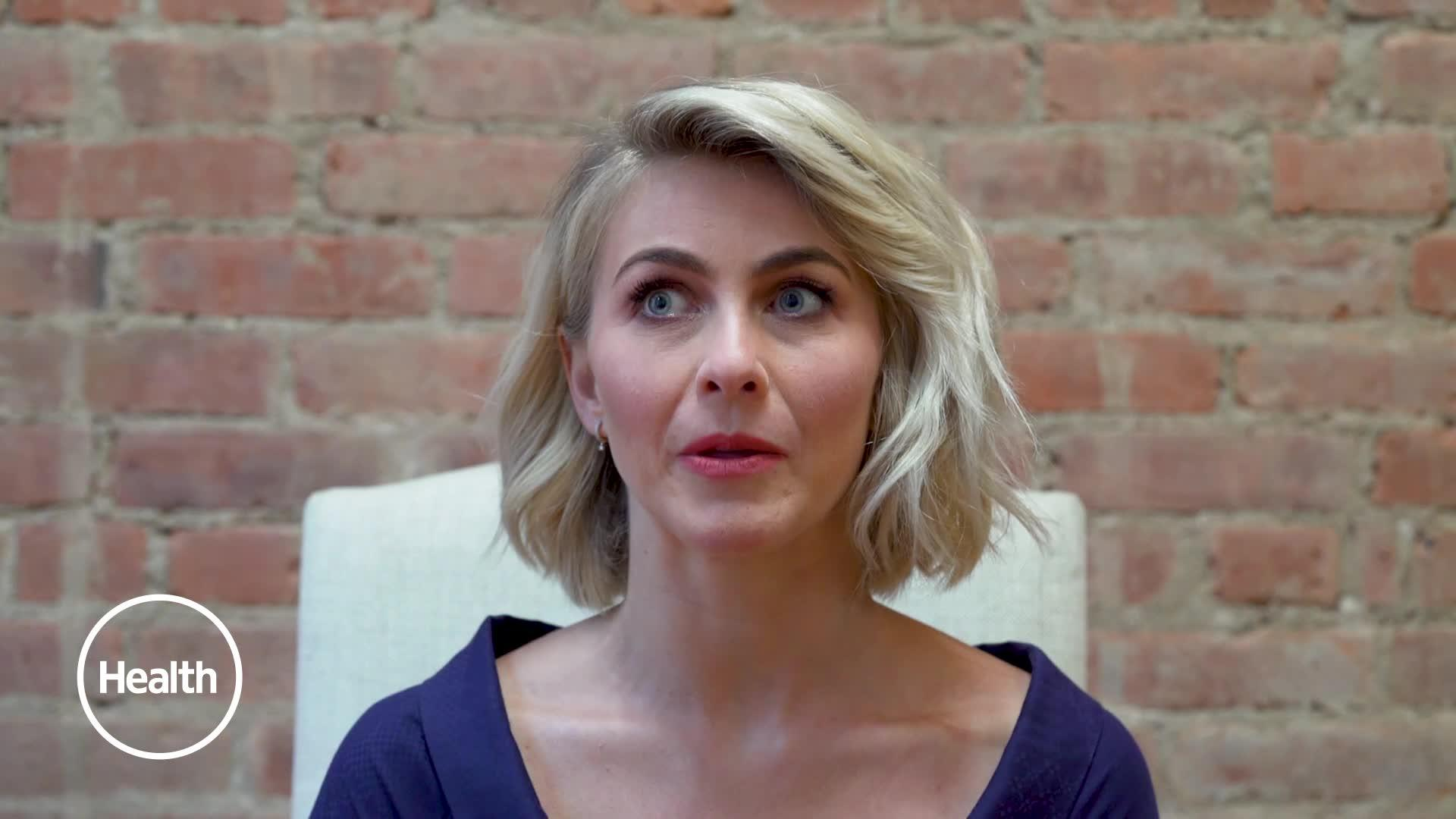 Julianne Hough Talks Married Life, the Morning Routine That
