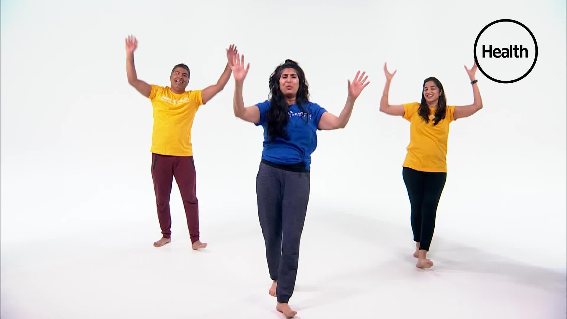 This Indian Dance Workout Is the Perfect Way to Switch Up Your Cardio Routine