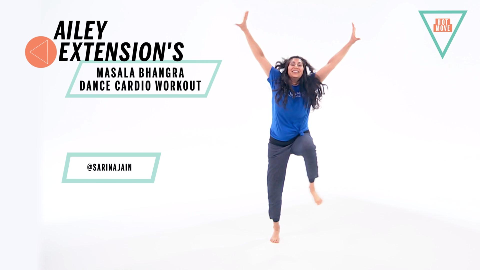 These 5 Heart-Pumping Indian Dance Moves Make a Great Cardio Workout