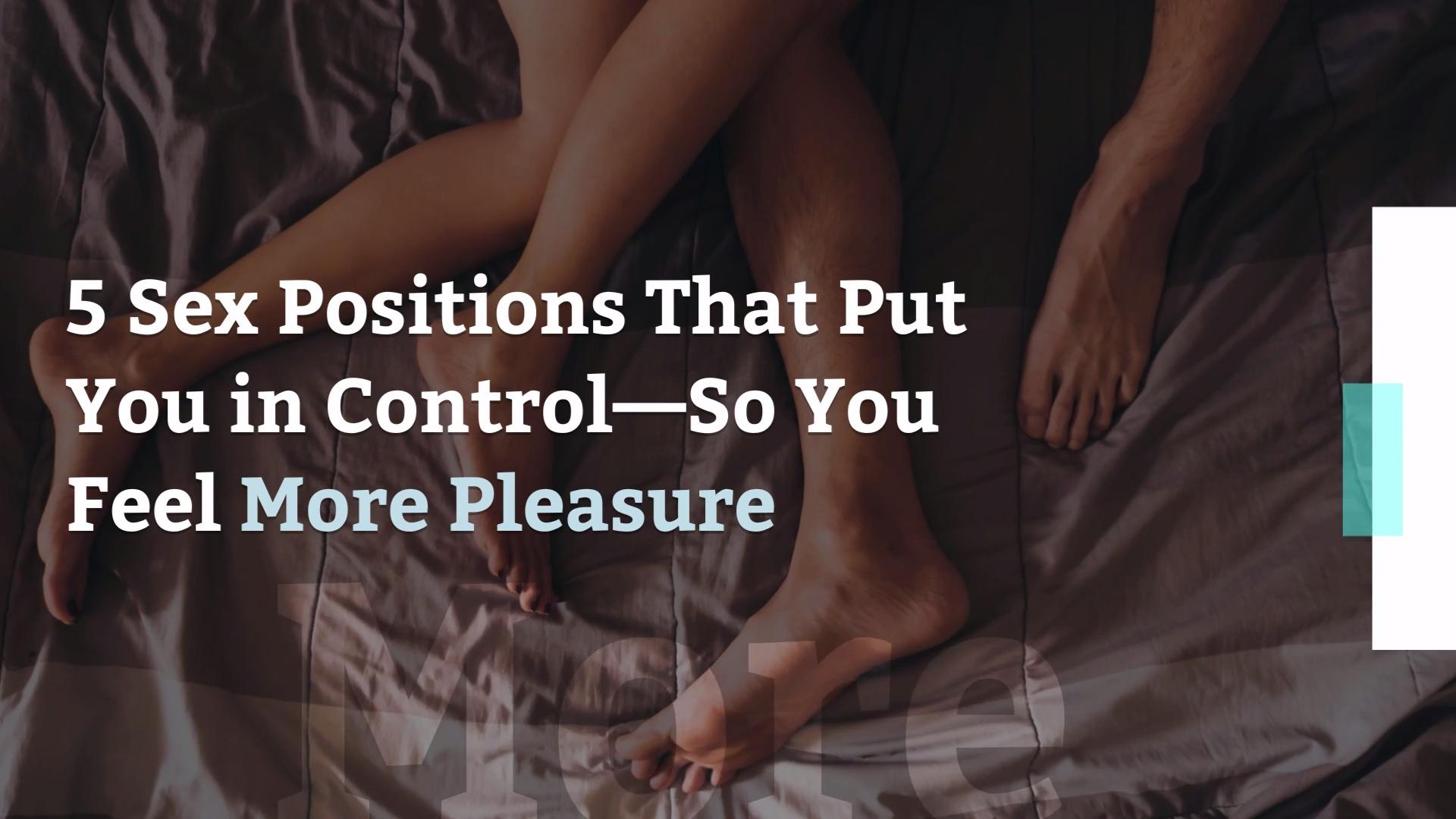 The Best Female Dominant Sex Positions