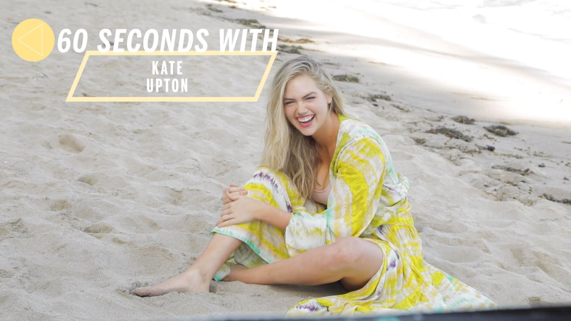 Kate Upton Poses in Unretouched Photos to Call BS on Weight Loss Culture