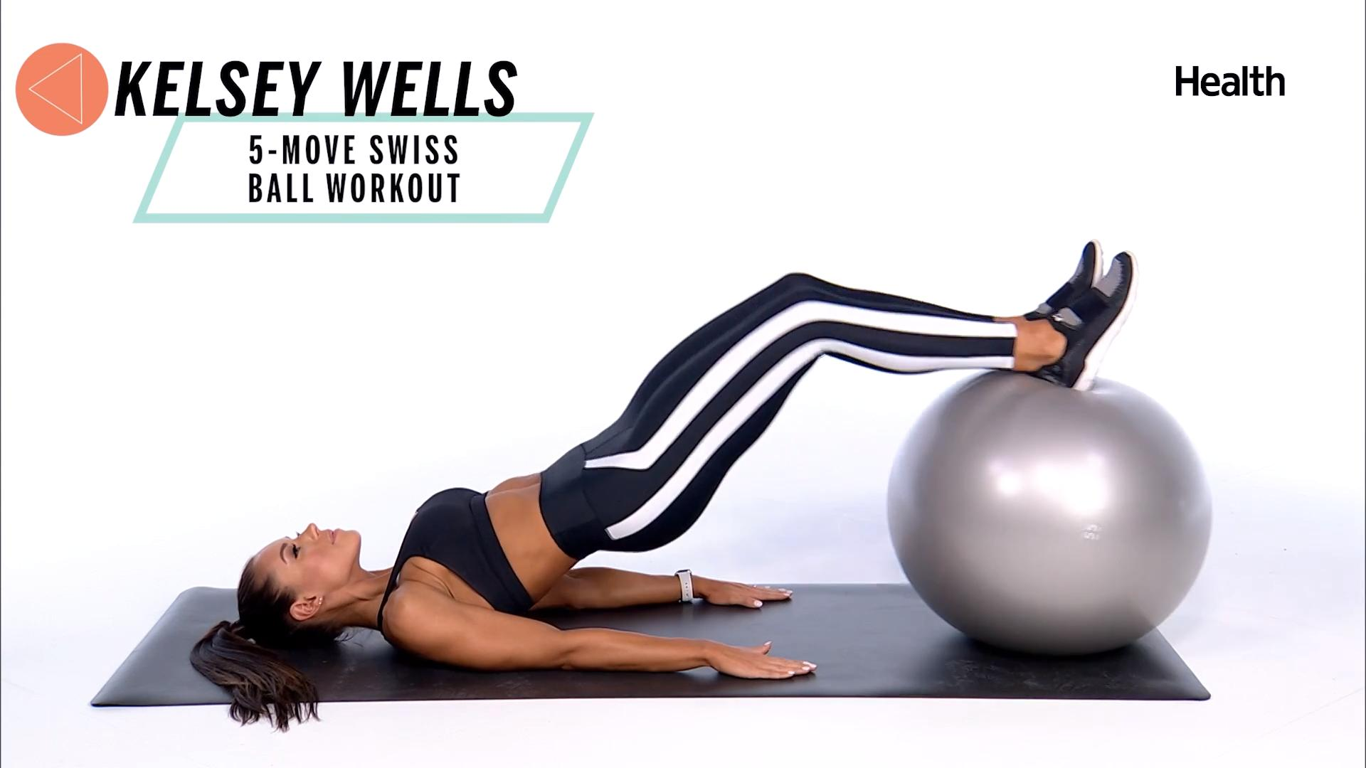 5 Swiss Ball Exercises for a Stronger Core