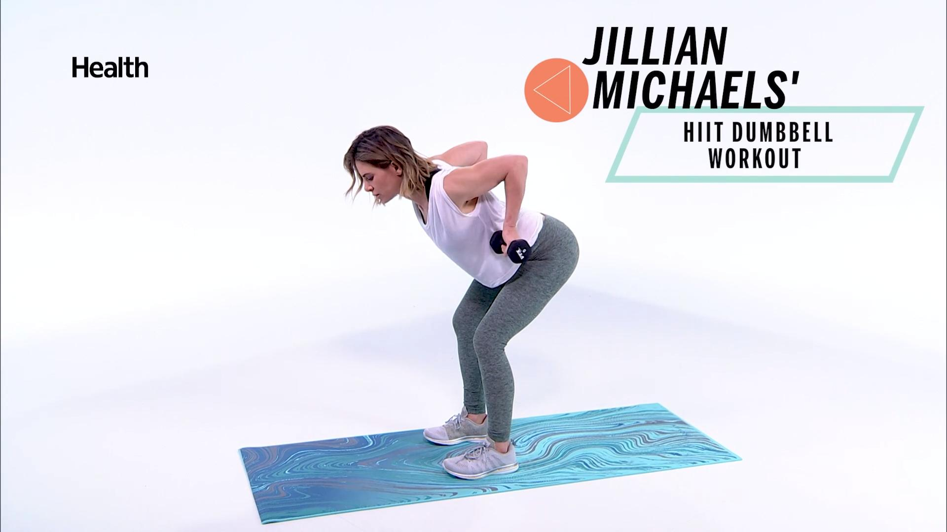 This HIIT Dumbbell Workout From Jillian Michaels Will Tone Your Entire Body