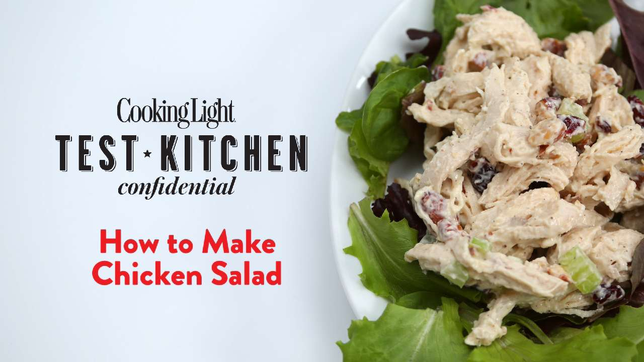 How To Make Chicken Salad Cooking Light