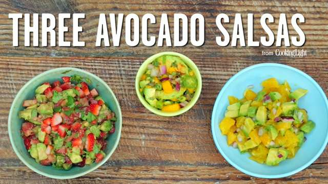 How to Make Three Delicious Avocado Salsas