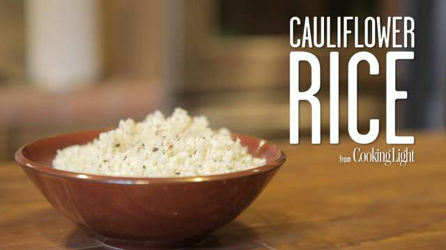 How to cook cauliflower rice boil