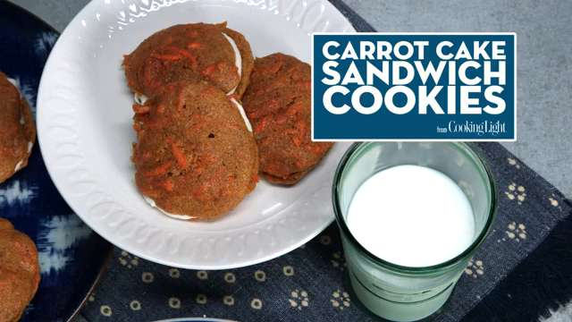 How To Make Carrot Cake Sandwich Cookies
