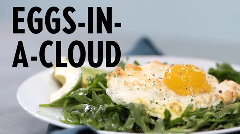 how to make egg clouds