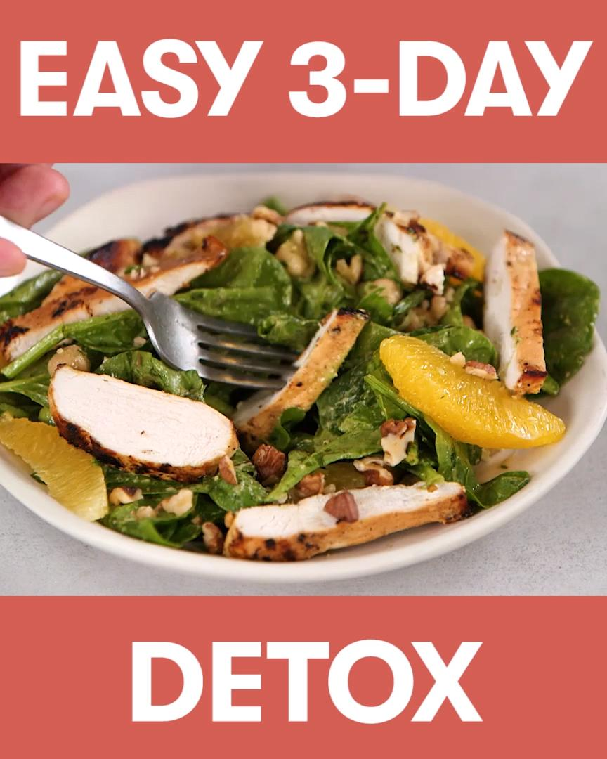 The Cooking Light 3-Day Detox