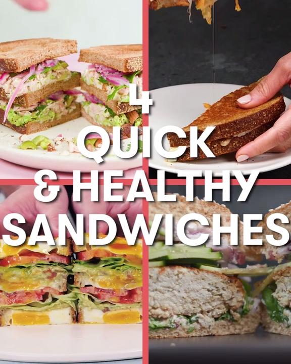 How to Make 4 Quick and Healthy Sandwiches - Cooking Light