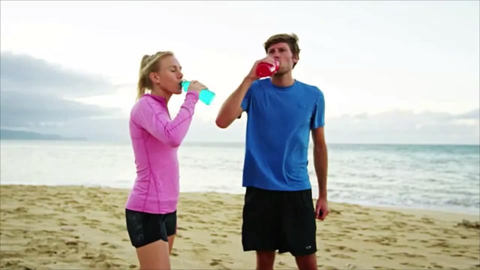 Working Out? Here's Why You Should Swap That Sports Drink for a