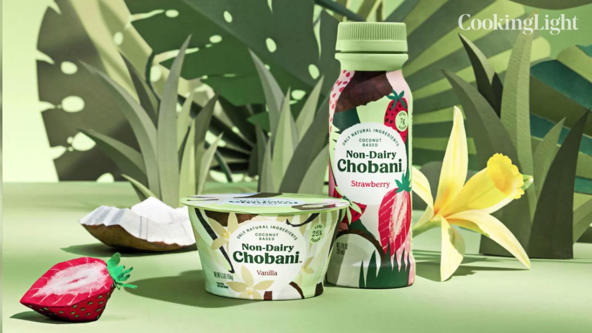 Chobani Launches New Vegan Plant-Based