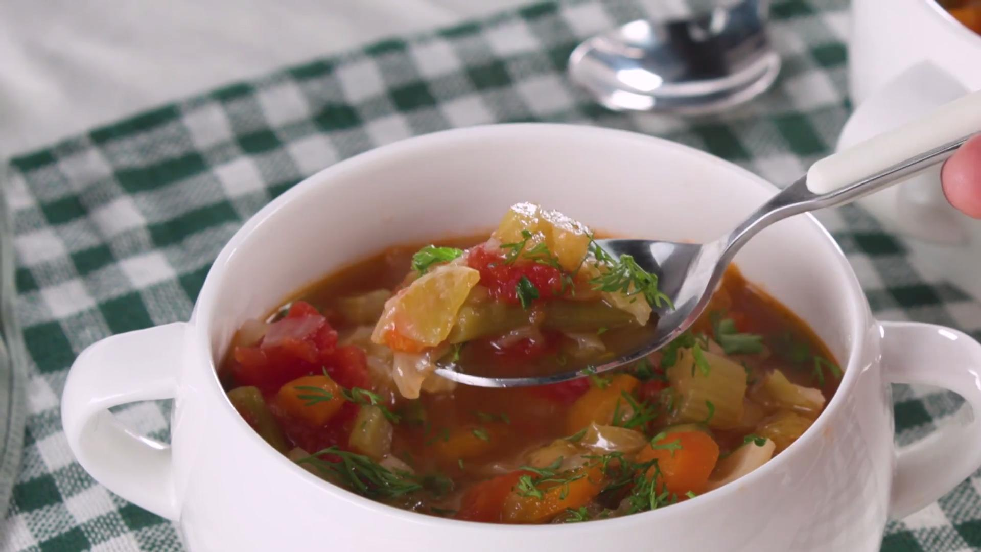 How to Make Instant Pot Cabbage Soup - Cooking Light