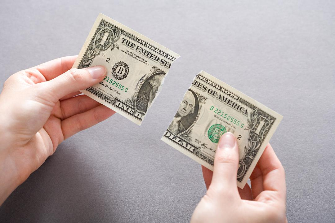 Can You Still Pay With A Torn Dollar Bill? - Southern Living