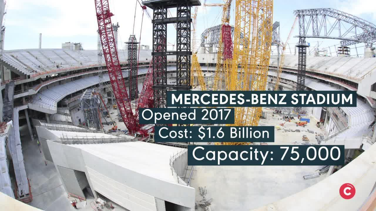 How Much Did It Cost To Build Mercedes Benz Stadium In Atlanta Si Com
