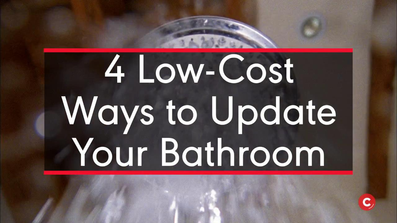 LowCost Ways To Update Your Bathroom Southern Living - Cost to update bathroom