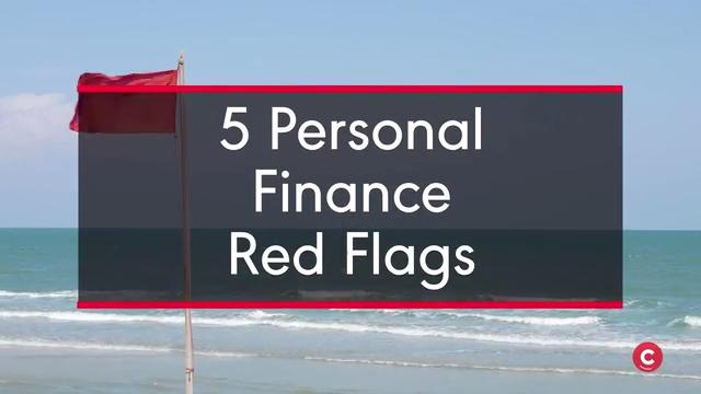 Red Flags that Show You're Bad with Money
