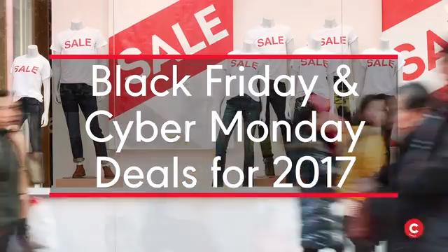 Black Friday & Cyber Monday Deals for 2017
