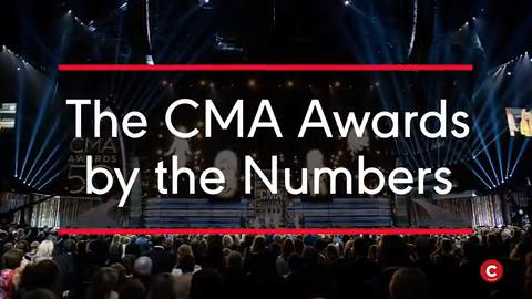The CMA Awards by the Numbers