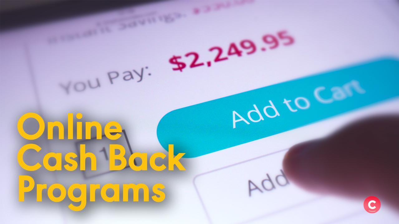 5 Cash Back Programs For Online Shopping
