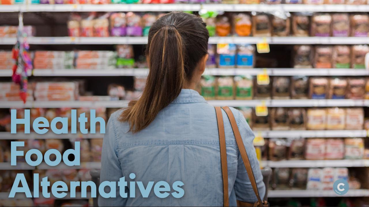 Smart grocery store swaps