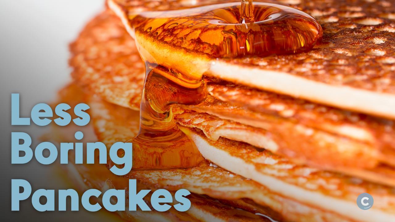 5 Ways To Make Your Pancakes Less Boring