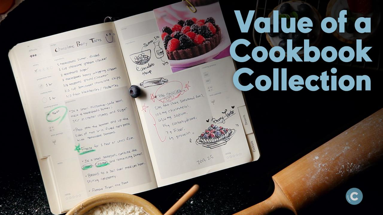 The Value of a Cookbook Collection