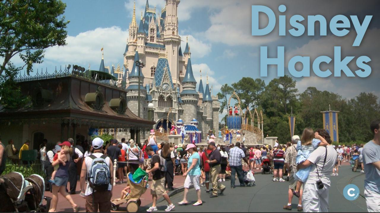 4 Hacks for an Affordable Disney World Vacation