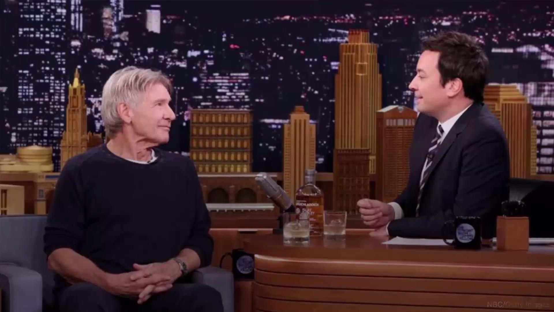 Harrison Ford reveals his favorite scotch, thanks to Jimmy Fallon
