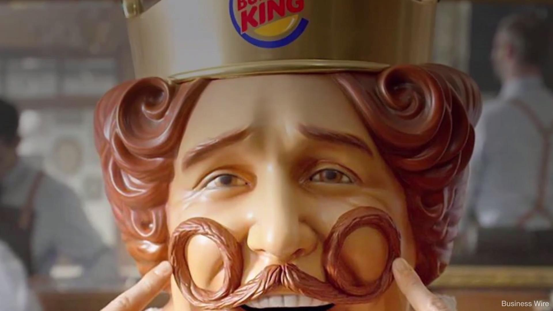 Why Did the Burger King King Just Shave His Royal Beard?