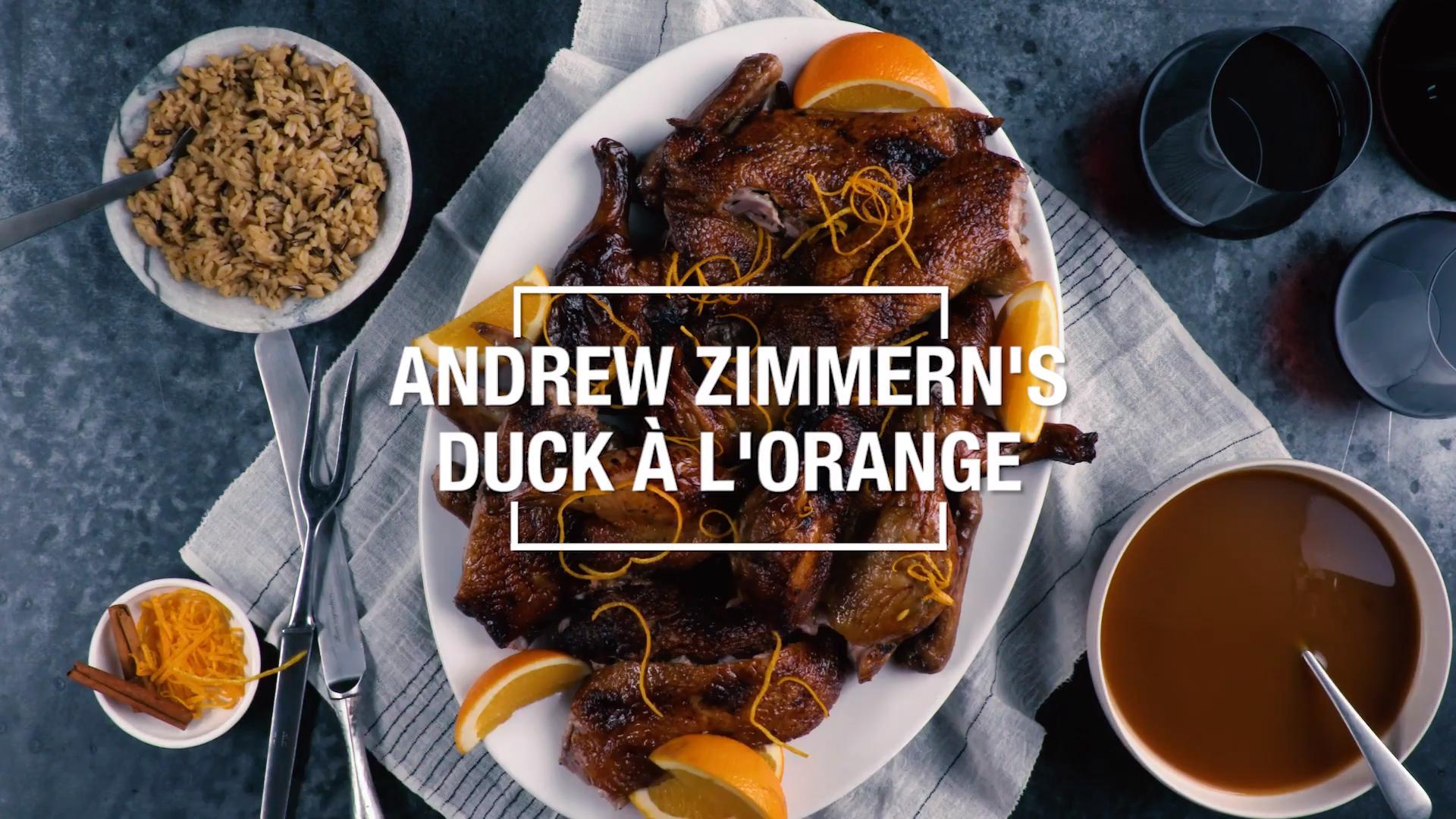 Duck a la Orange